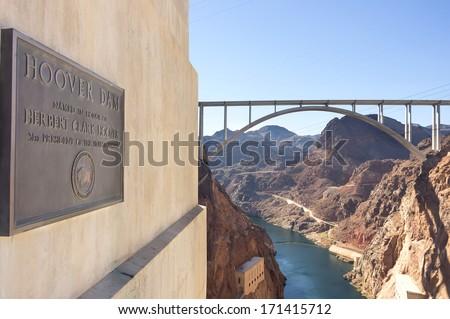 Hoover Dam,USA - stock photo