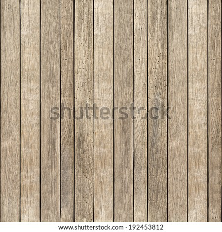 Horizontal and vertical seamless wood background - stock photo