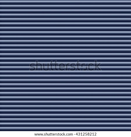 Horizontal blue tube background texture seamlessly tileable - stock photo