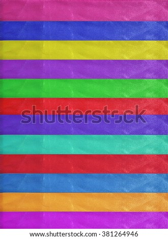 Horizontal colorful stripes ribbons background