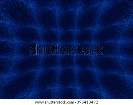Horizontal curved 3d space noise textured background - stock photo
