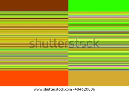 horizontal lines and a rectangle color