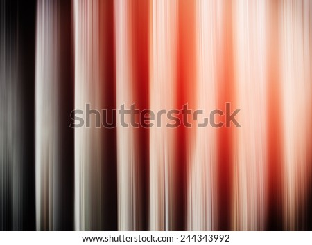 Horizontal vertical blinds vivid abstraction with light leak - stock photo