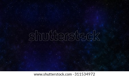 Horizontal vivid space texture digital background