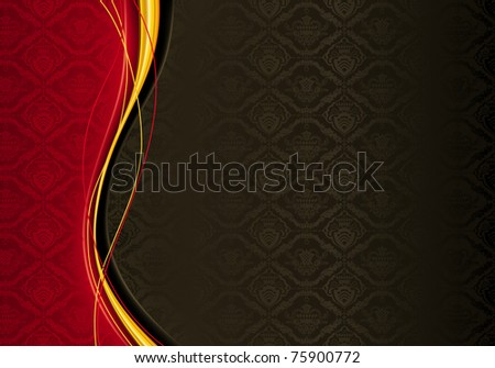 Horizontal Wallpaper Background, bitmap copy - stock photo