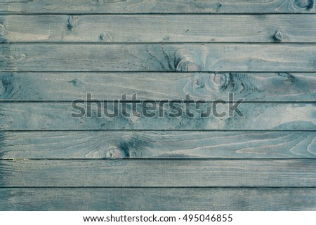Horizontal Wooden Fence Close Up Natural Stock Photo Royalty Free