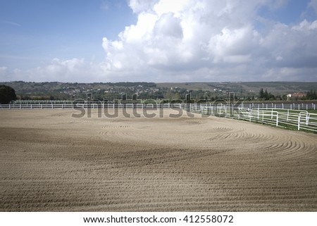 Horse breeding farm