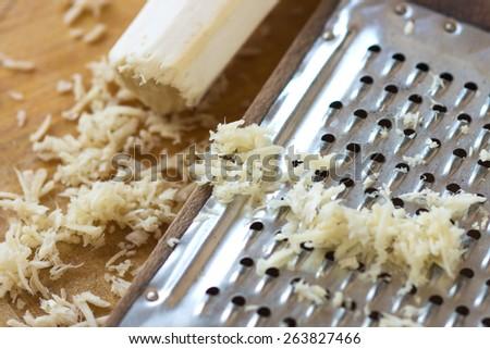 Horseradish   - stock photo