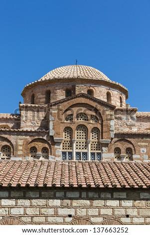Hosios Loukas monastery,Distomo,Greece - stock photo