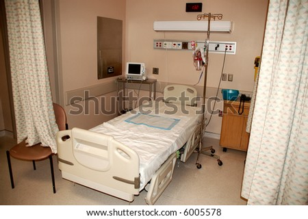 Hospital bed - stock photo