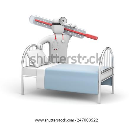 Hospitalization - stock photo