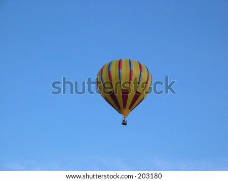 Hot Air Balloon against sky
