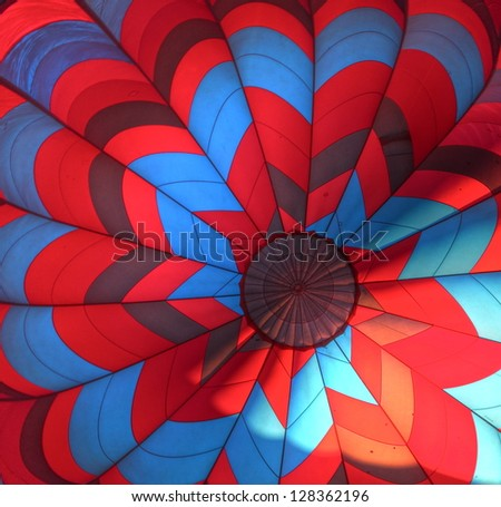 Hot Air Balloon Interior 2 - stock photo