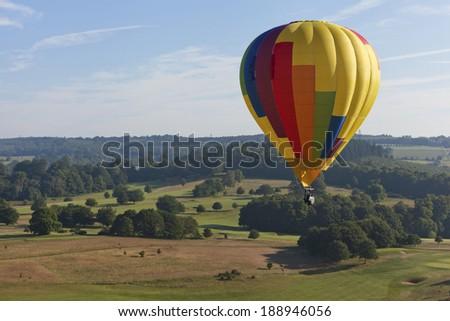 Hot Air Ballooning  - stock photo