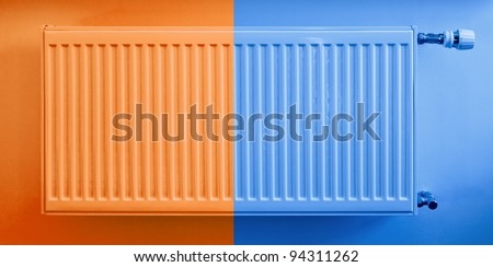 Hot and cold heat sink