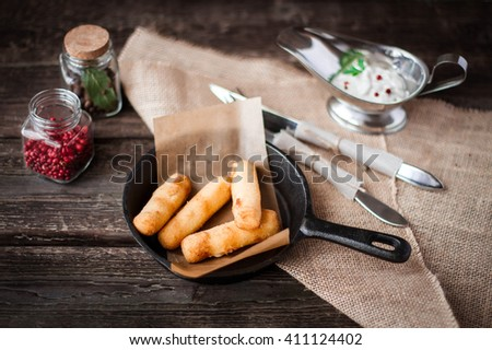 Hot Appetizers - Cheese sticks