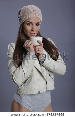Hot beverage and warm clothing