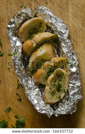 Garlic-bread Stock Photos, Images, & Pictures | Shutterstock