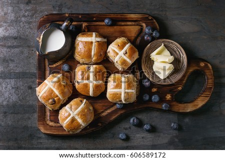Hot Cross Buns Stock Images, Royalty-Free Images & Vectors ...