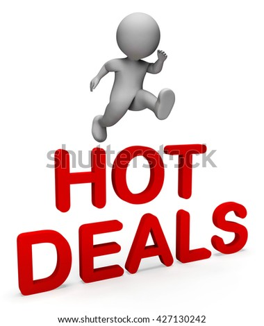 Hot Deals Meaning Top Notch And Fine 3d Rendering - stock photo