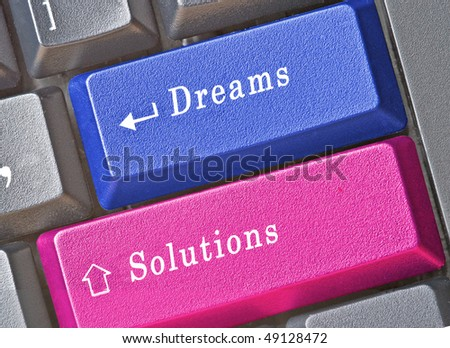 Hot keys for dreams and solutions