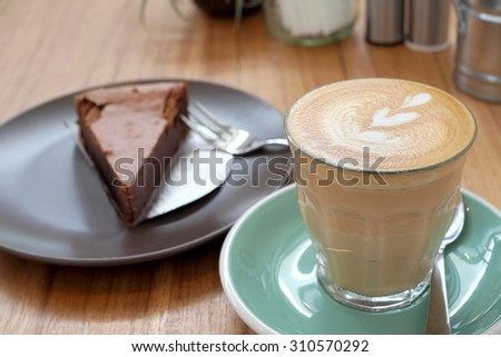 Hot Latte - stock photo