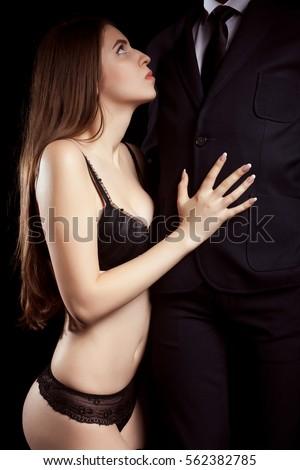 Hot female in sex withmen