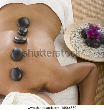 hot stone treatment in spa