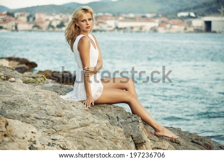 Hot summer - stock photo