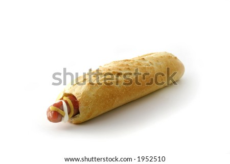 Hotdog - stock photo