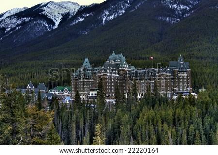 Hotel and Resort - stock photo