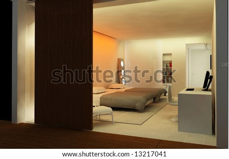Hotel apartment _ Bedroom