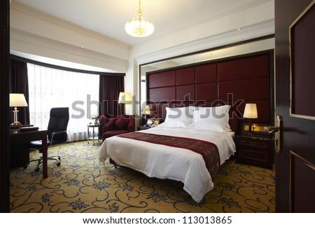 Hotel bedroom. Hotel Bedroom Stock Photo 113013865   Shutterstock