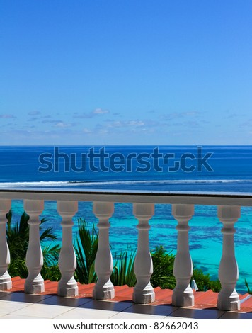 Hotel Luxury Paradise - stock photo