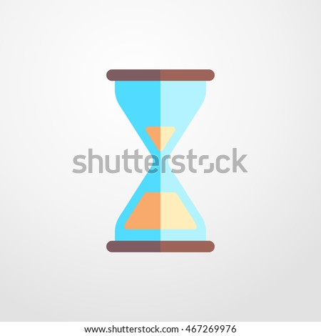 hourglass icon. hourglass sign