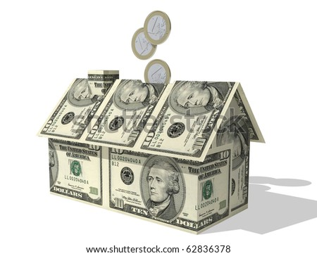 Stock images royalty free images vectors shutterstock for Money to build a house