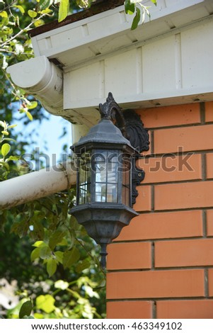 House Garden Light With Waterproof Cover Exterior House Lighting Outdoor Lighting Exterior Light