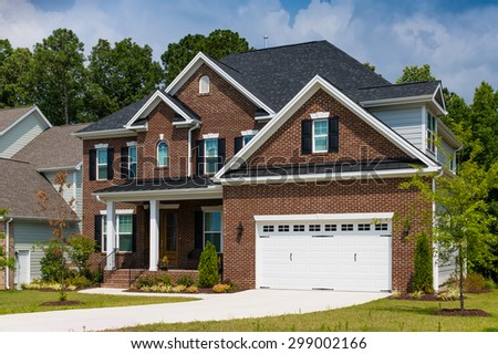 House in America - stock photo