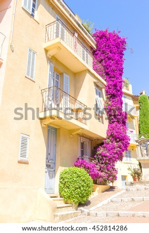 House in Cannes, south of France