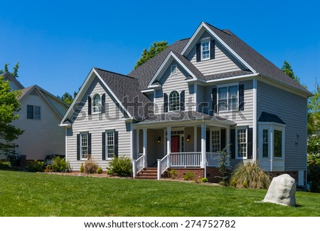 House in southeast - stock photo
