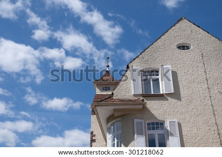 House in the black forest - stock photo