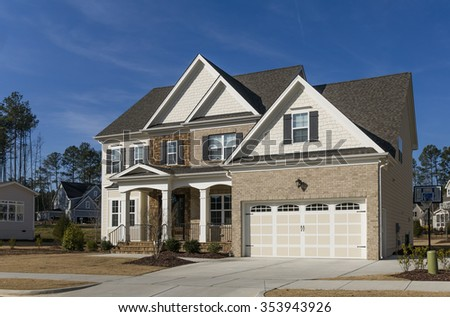 House in US - stock photo
