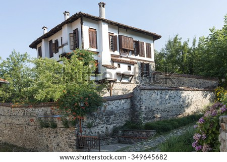 house in Zlatograd, Bulgaria - stock photo