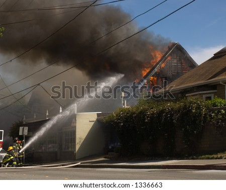 House is consumed in fire in Mill Valley, California