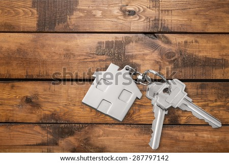 House, Key, House Key. - stock photo