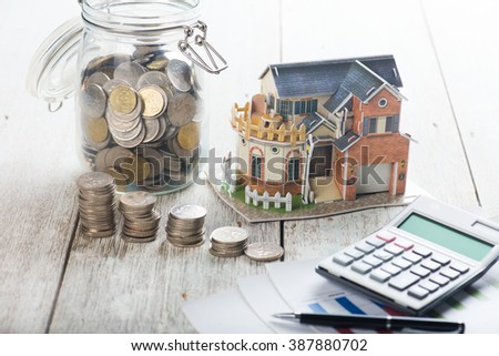 house loan concept photo