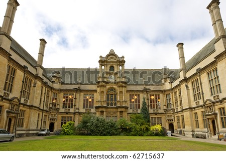 House of Examination Schools. Merton Street, Oxford, UK - stock photo
