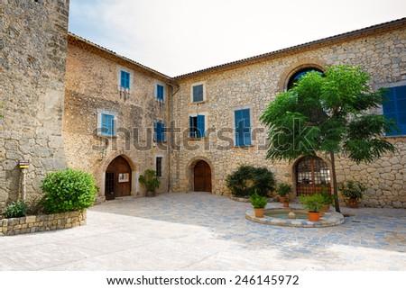 House of Son Marroig, Mallorca, The Balearic Islands, Spain - stock photo