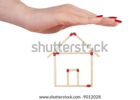 house protection 03 - stock photo