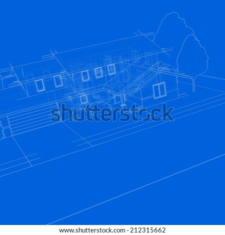 house sketch building